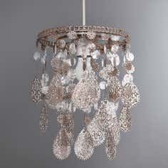 Fiona Hanging Floral Ceiling Pendant