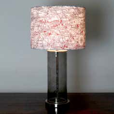 Map Table Lamp