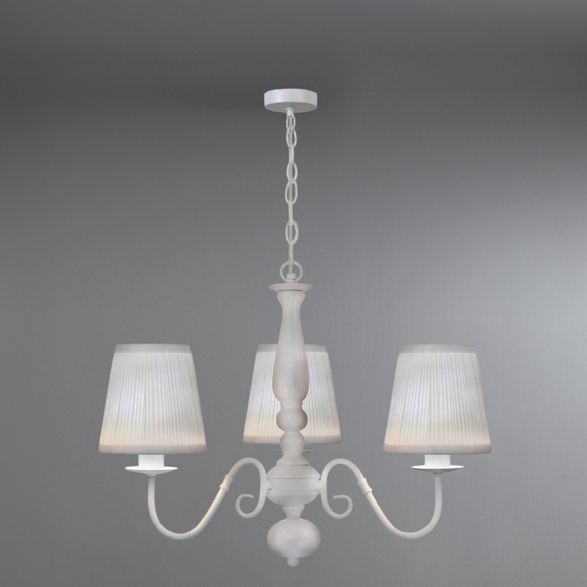 Loretta Ceiling Fitted Triple Light