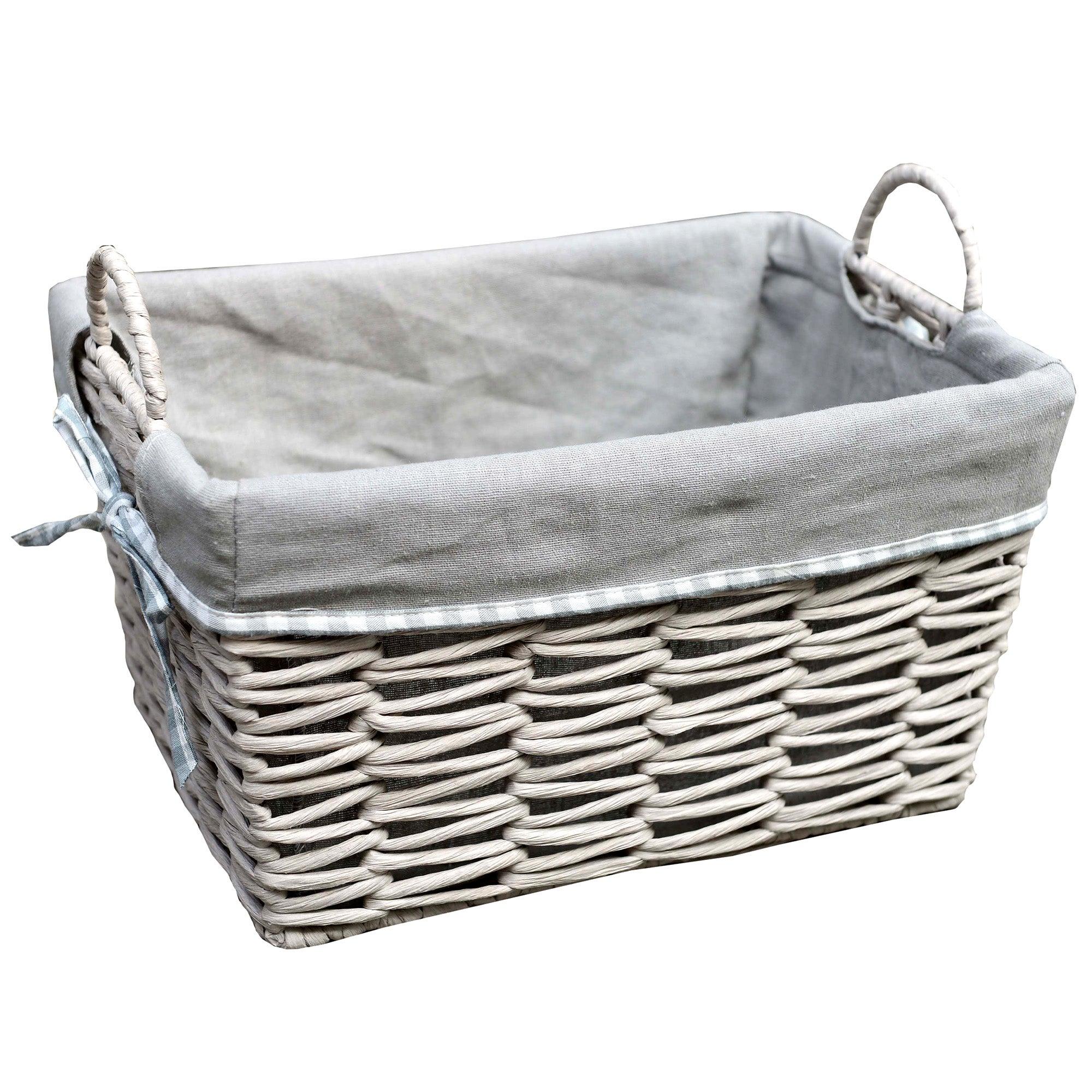 Purity Grey Basket