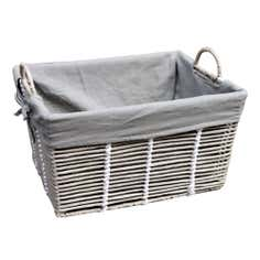 Purity Grey Basket with Handles