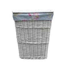 White Rose Collection Laundry Hamper