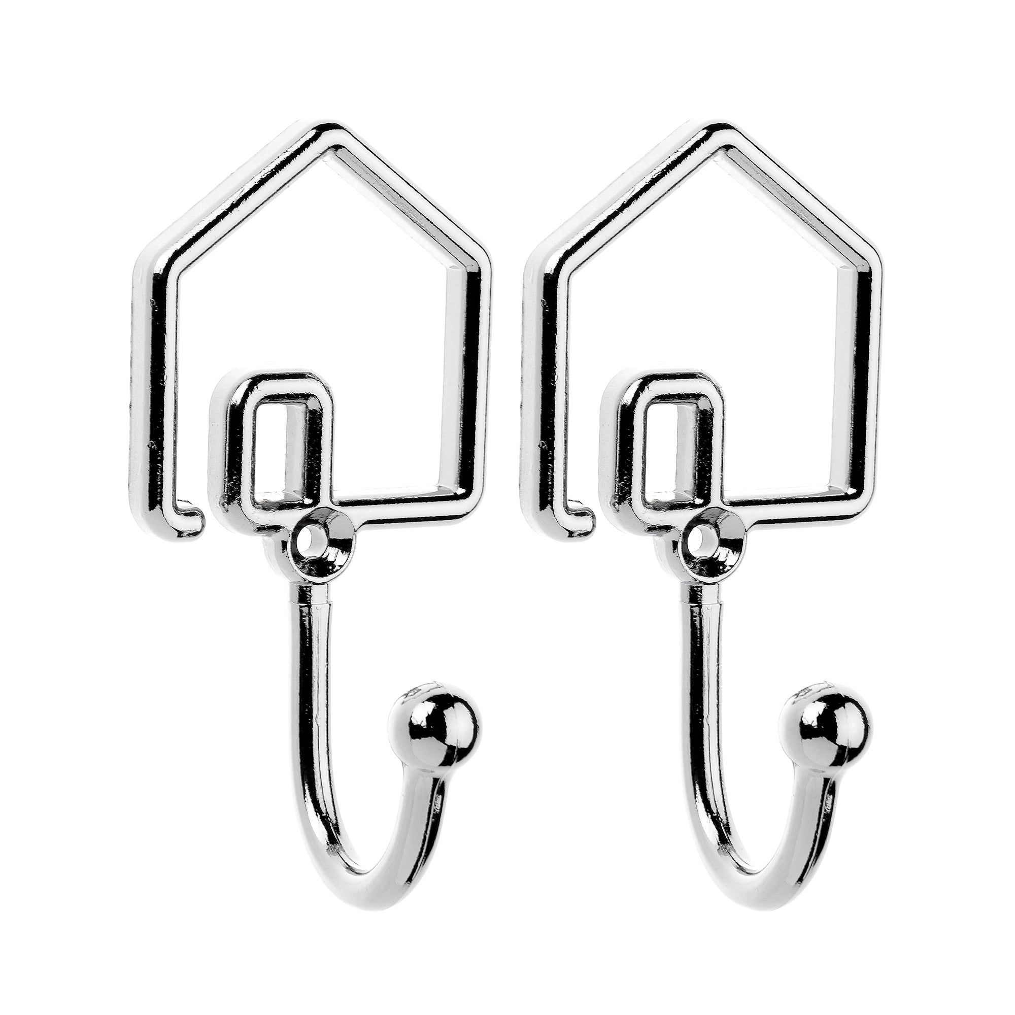 Pack of Two House Hooks