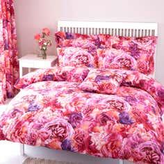 Pink Rose Petal Collection Duvet Cover Set