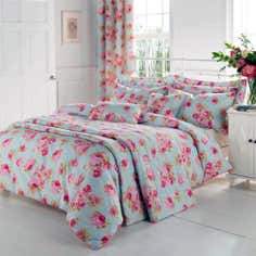 Duck Egg Isla Collection Duvet Cover Set