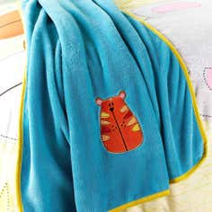 Kids Safari Friends Collection Fleece