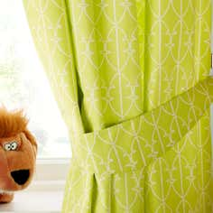 Kids Safari Friends Blackout Eyelet Curtains