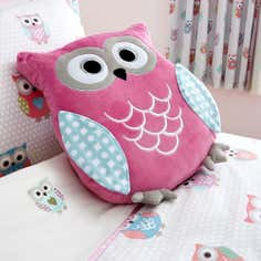 Kids Pretty Owls Collection 3D Cushion