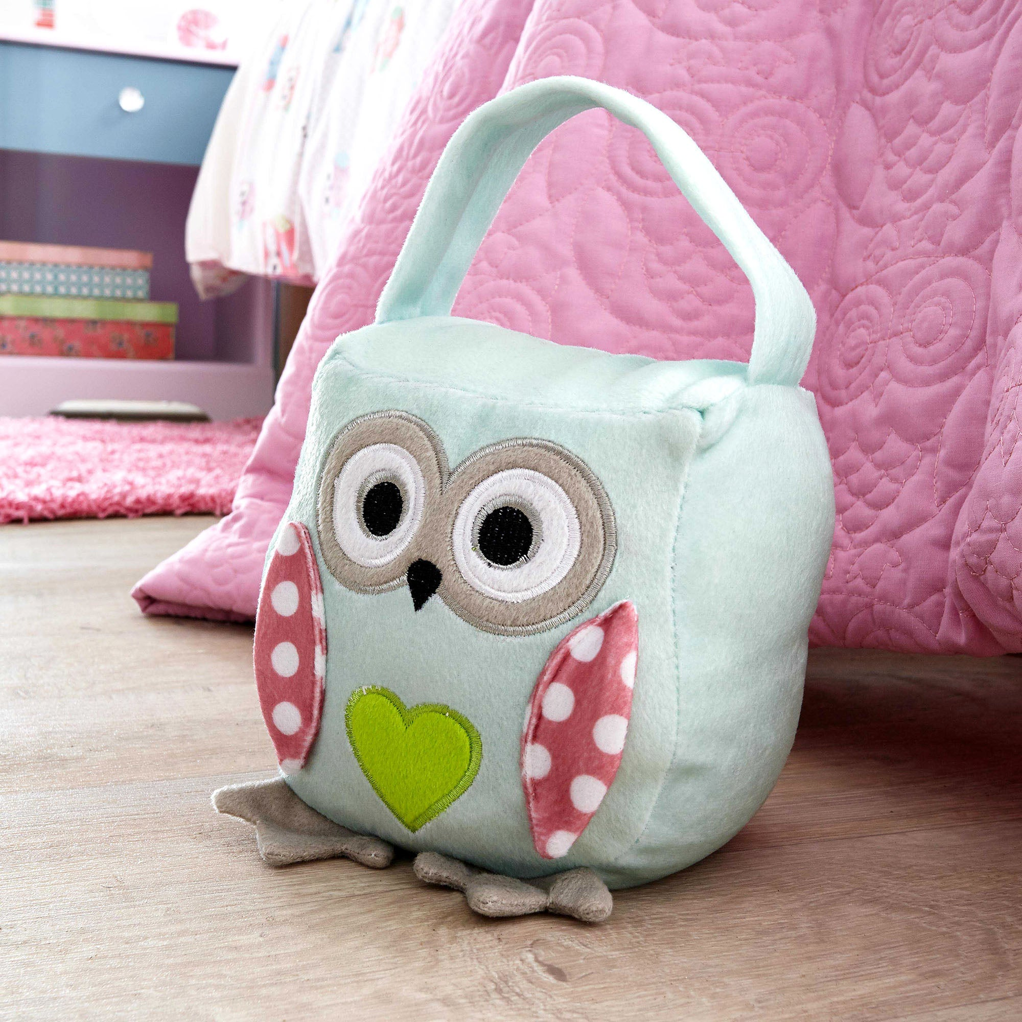Kids Pretty Owls Collection Doorstop