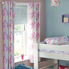Kids Georgie Giraffe Blackout Eyelet Curtains