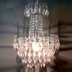 Sarah Clear Acrylic Drop Chandelier
