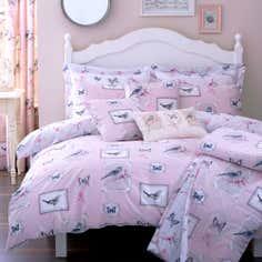 Pink Ariya Collection Duvet Cover Set
