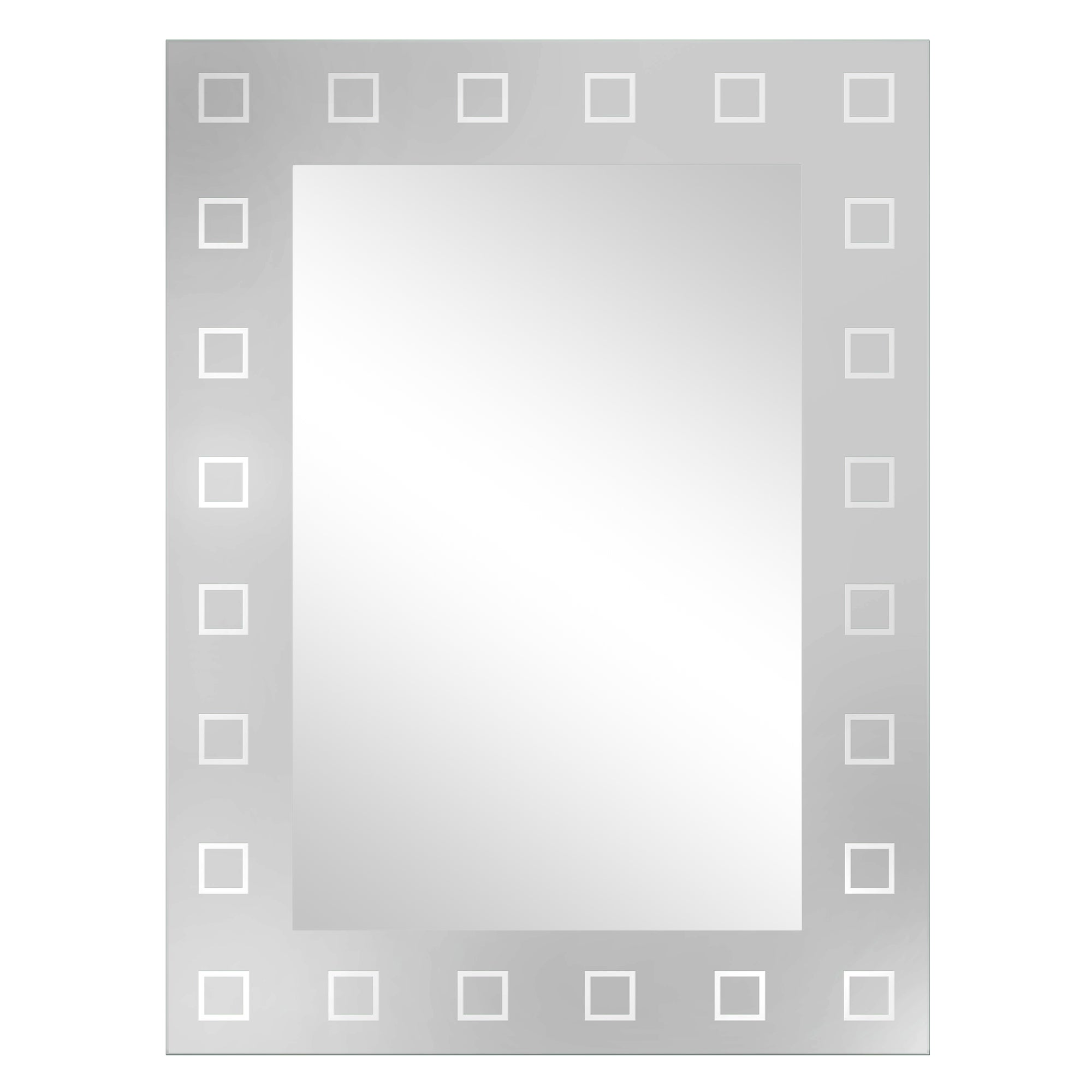 Frosted Edge Mirror