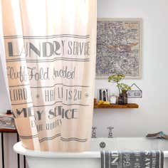 Natural Salvage Collection Shower Curtain