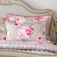 Dorma Pink Nancy Collection Cuffed Pillowcase