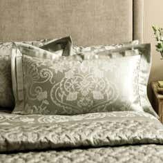 Dorma Green Osterley Collection Oxford Pillowcase