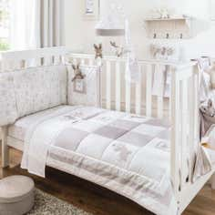 Dorma Bunny Meadow Collection Coverlet and Bumper Set