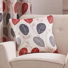 Red Turin Collection Cushion Cover