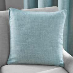 Duck Egg Vermont Collection Square Cushion