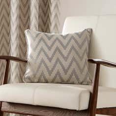 Grey Zanzibar Collection Filled Cushion