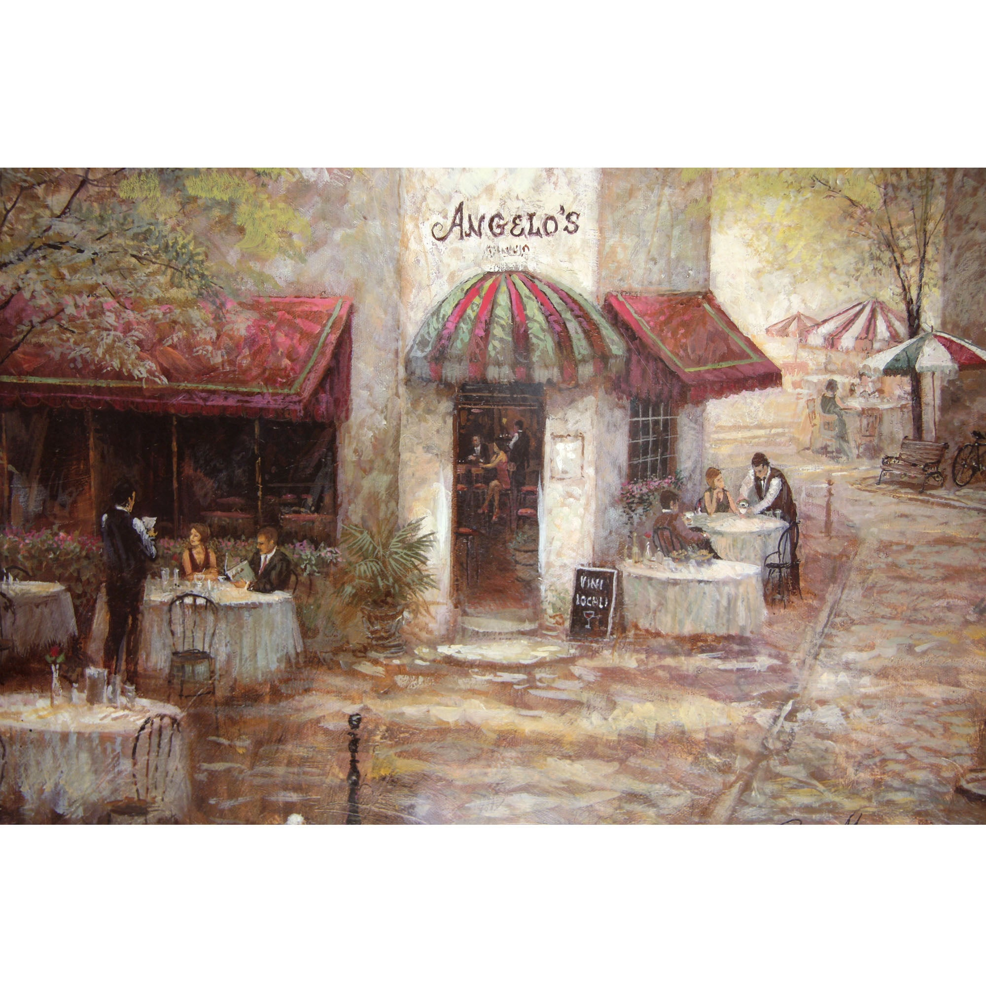 Street Scenes Printed Canvas