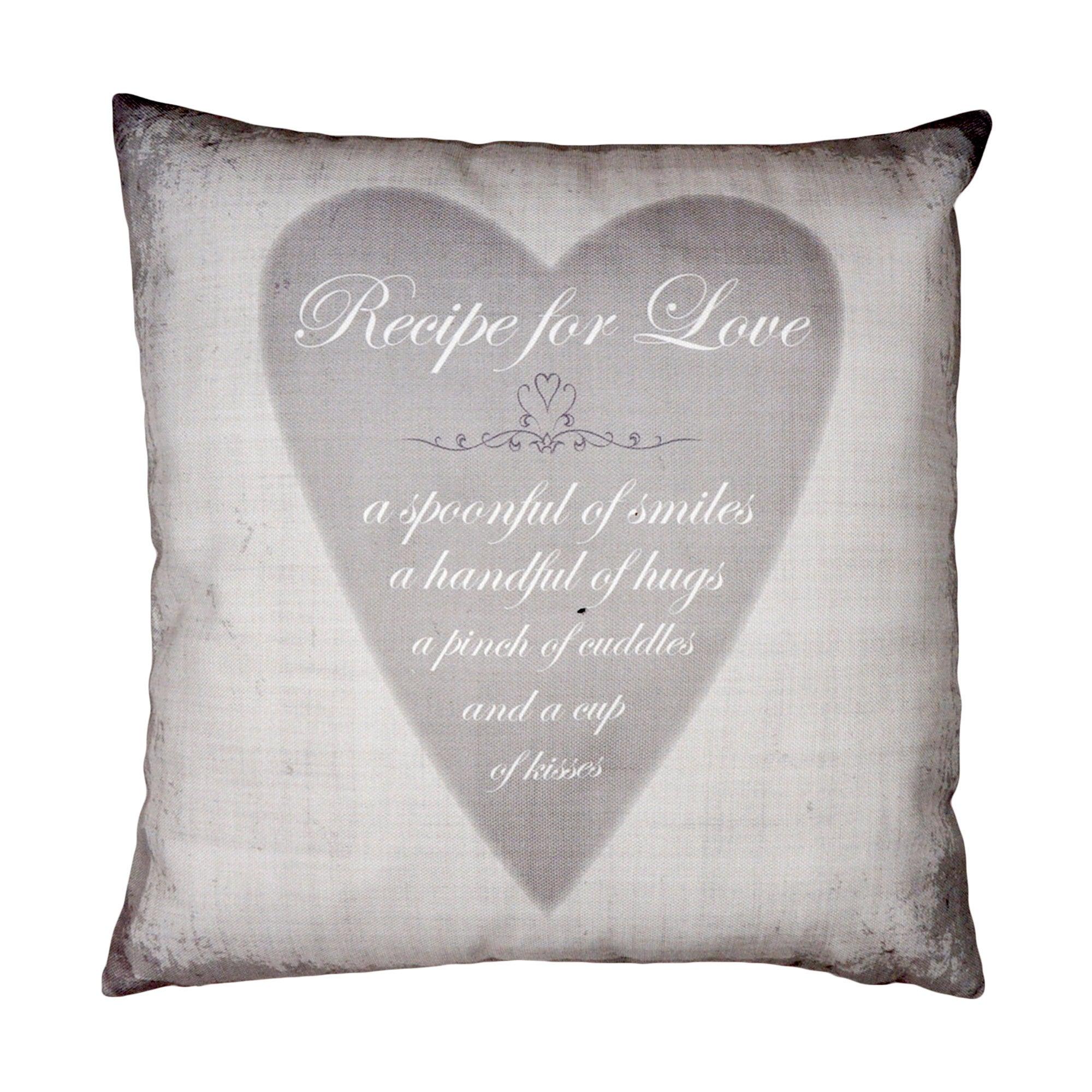 Recipe For Love Cushion