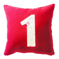 Number 1 Cushion