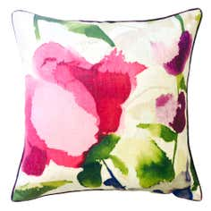 Watercolour Brights Square Cushion