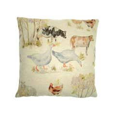 Farmyard Cushion Cover