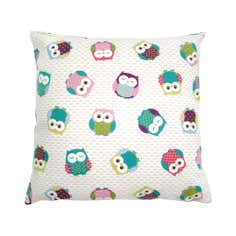 Funky Owl Cushion Cover