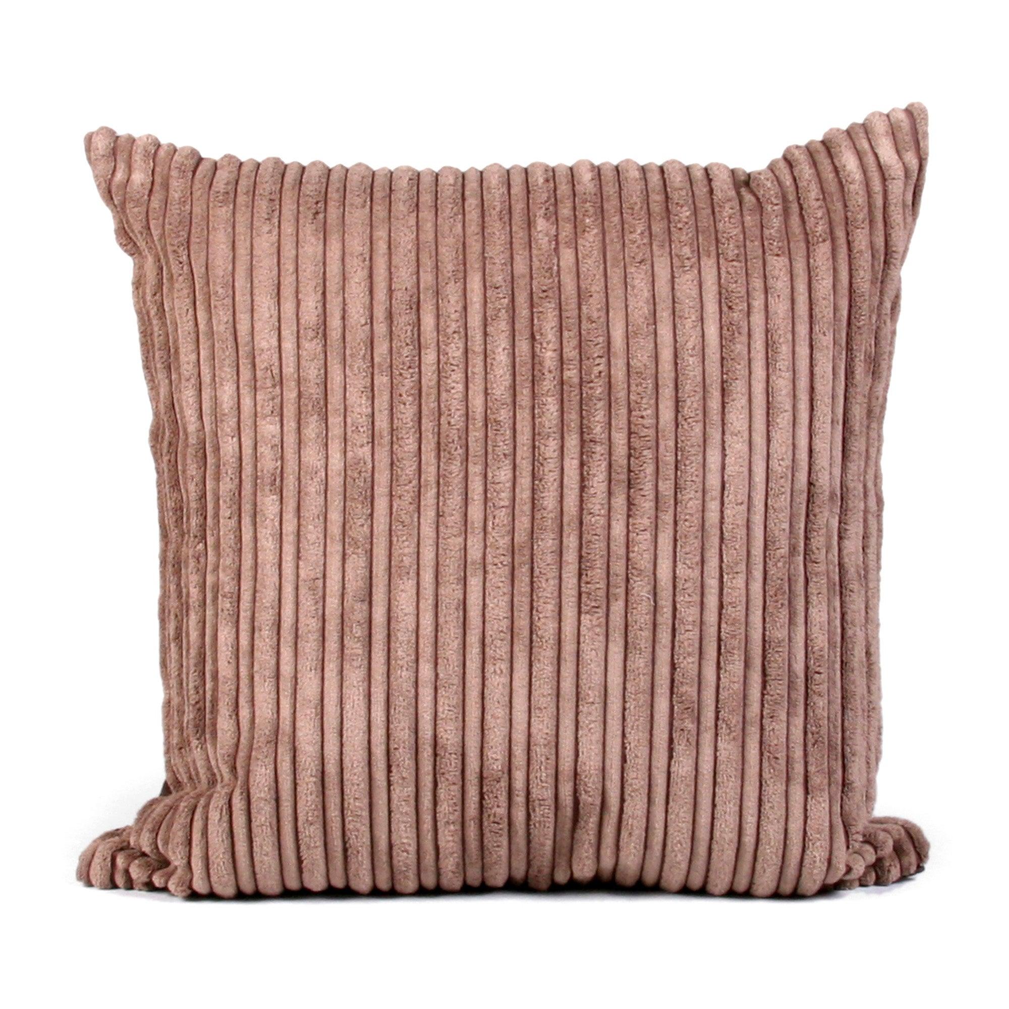 Chocolate Jumbo Cord Cushion