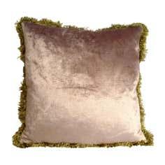 Fringe Velvet Cushion