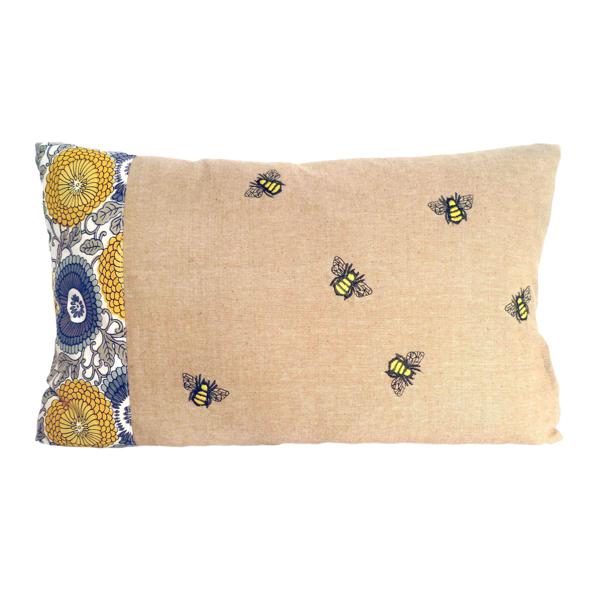 Honey Bees Cushion