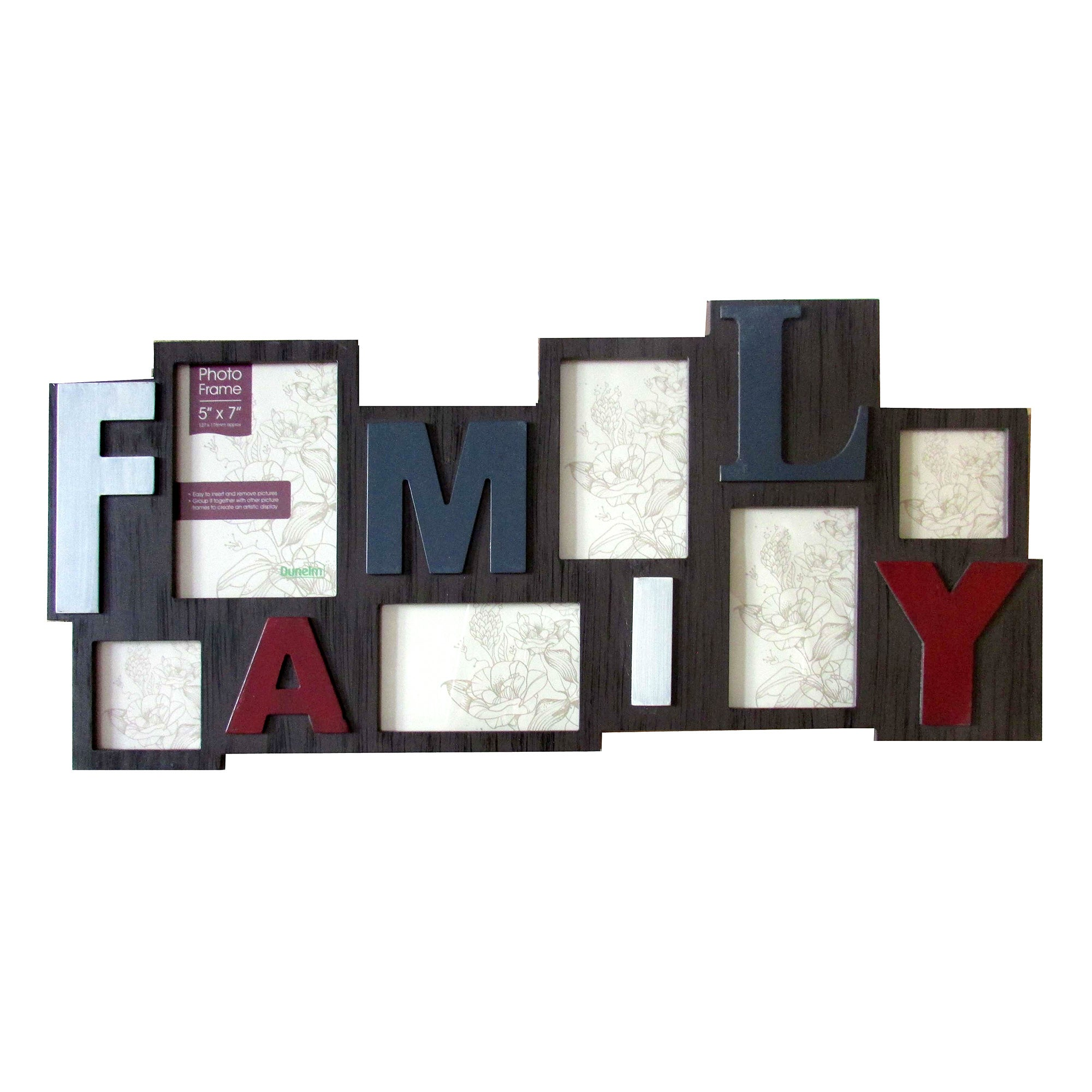Salvage Family Collage Photo Frame