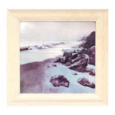 Natural Sea Shore Print Canvas