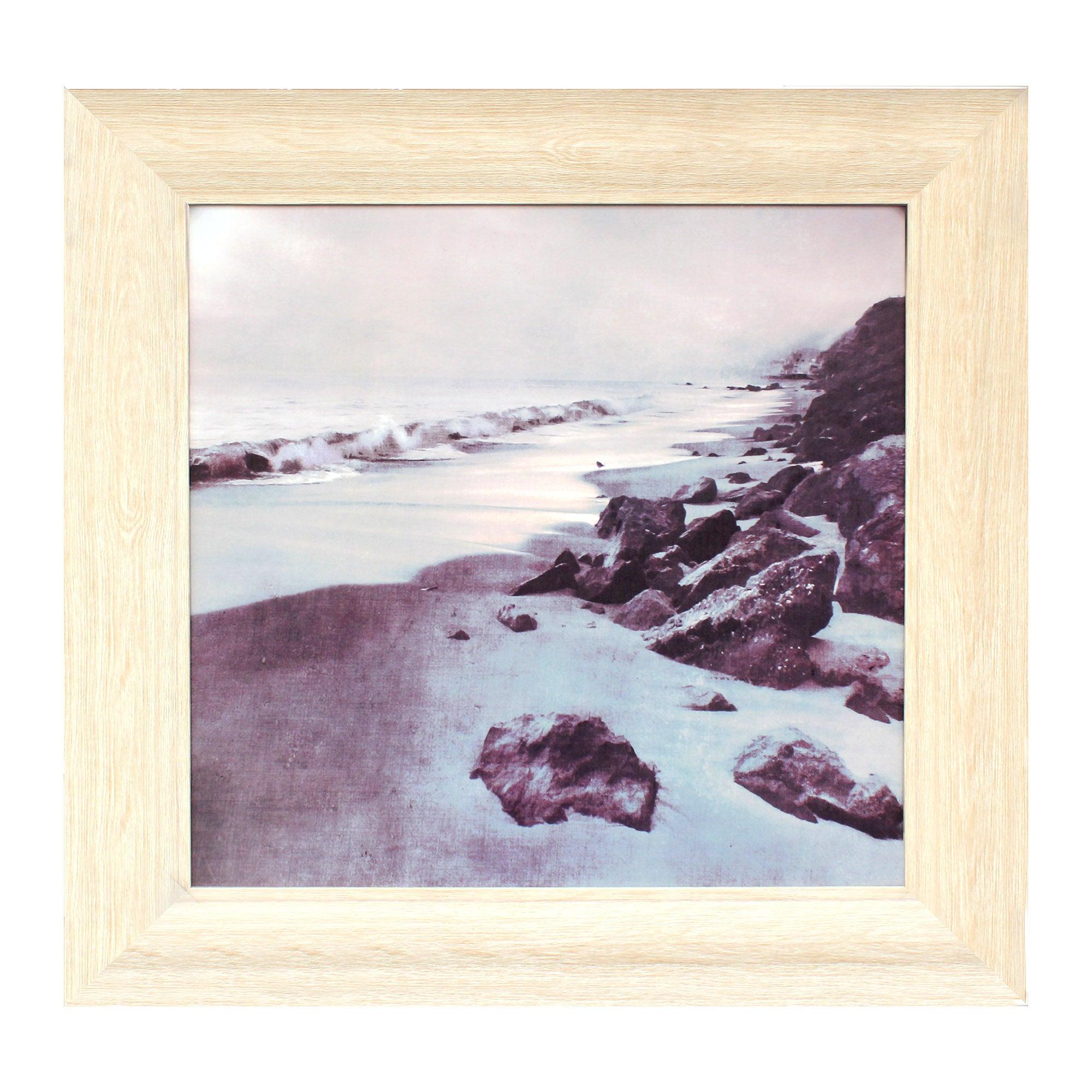 Natural Sea Shore Print Canvas