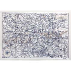 London Map Canvas