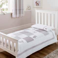 Dorma White Bunny Meadow Junior Bed Set