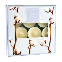 Destinations Set of 9 Egyptian Cotton Tealights
