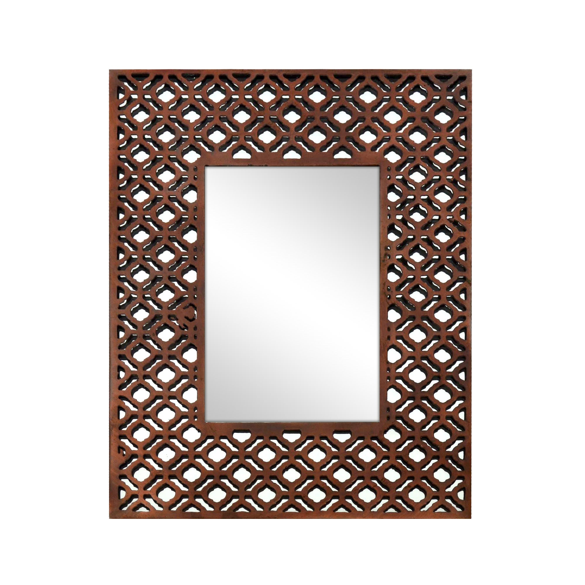 Copper Cut Out Mirror