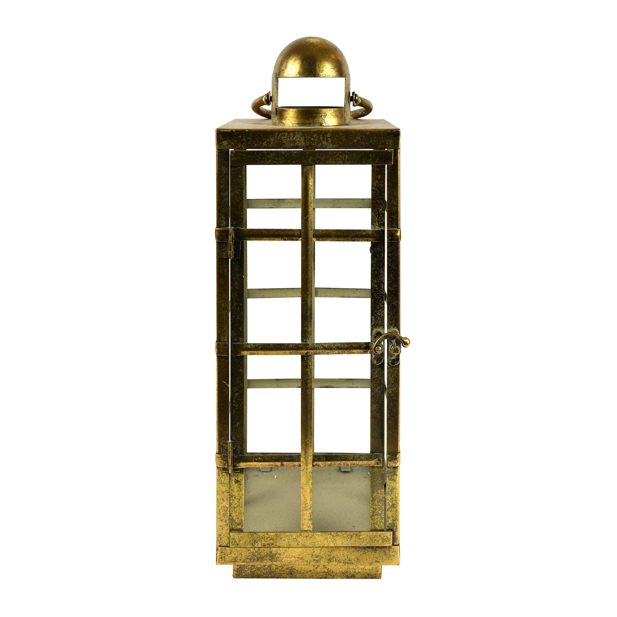 Gold Hanging Lantern