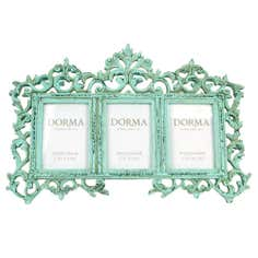Green Dorma Ornate Photo Frame