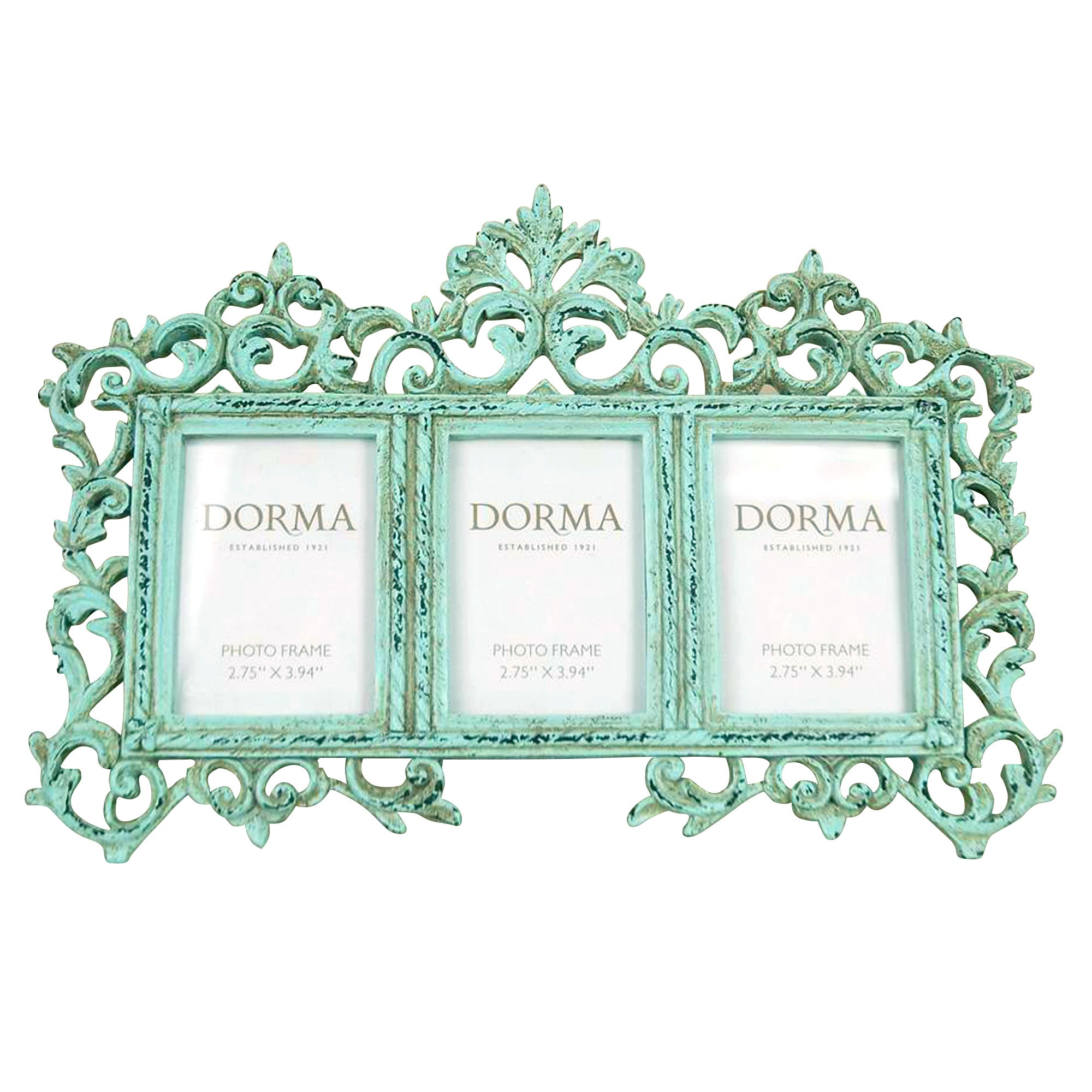 Green Dorma Ornate Photo Frame