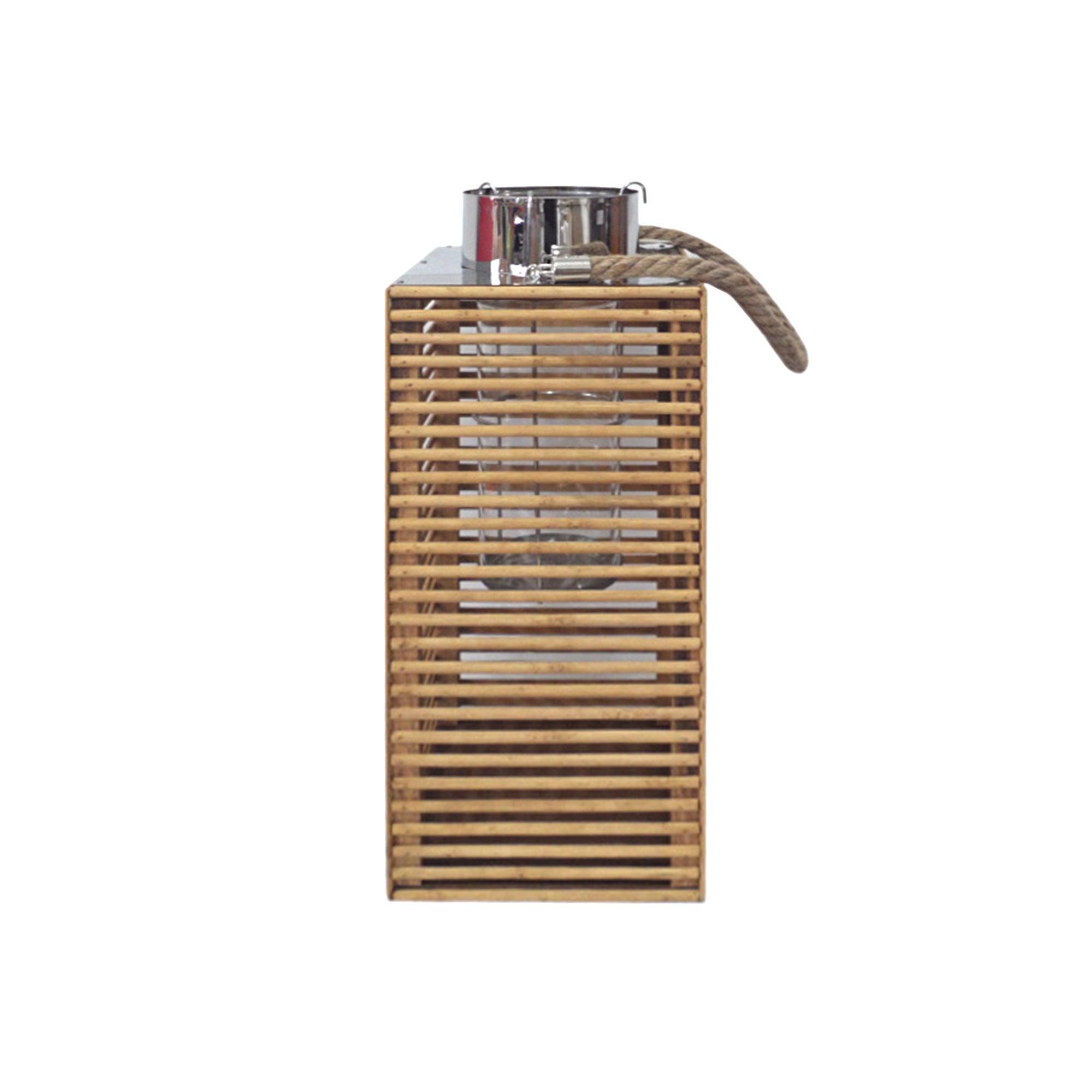 Wooden Grill Lantern
