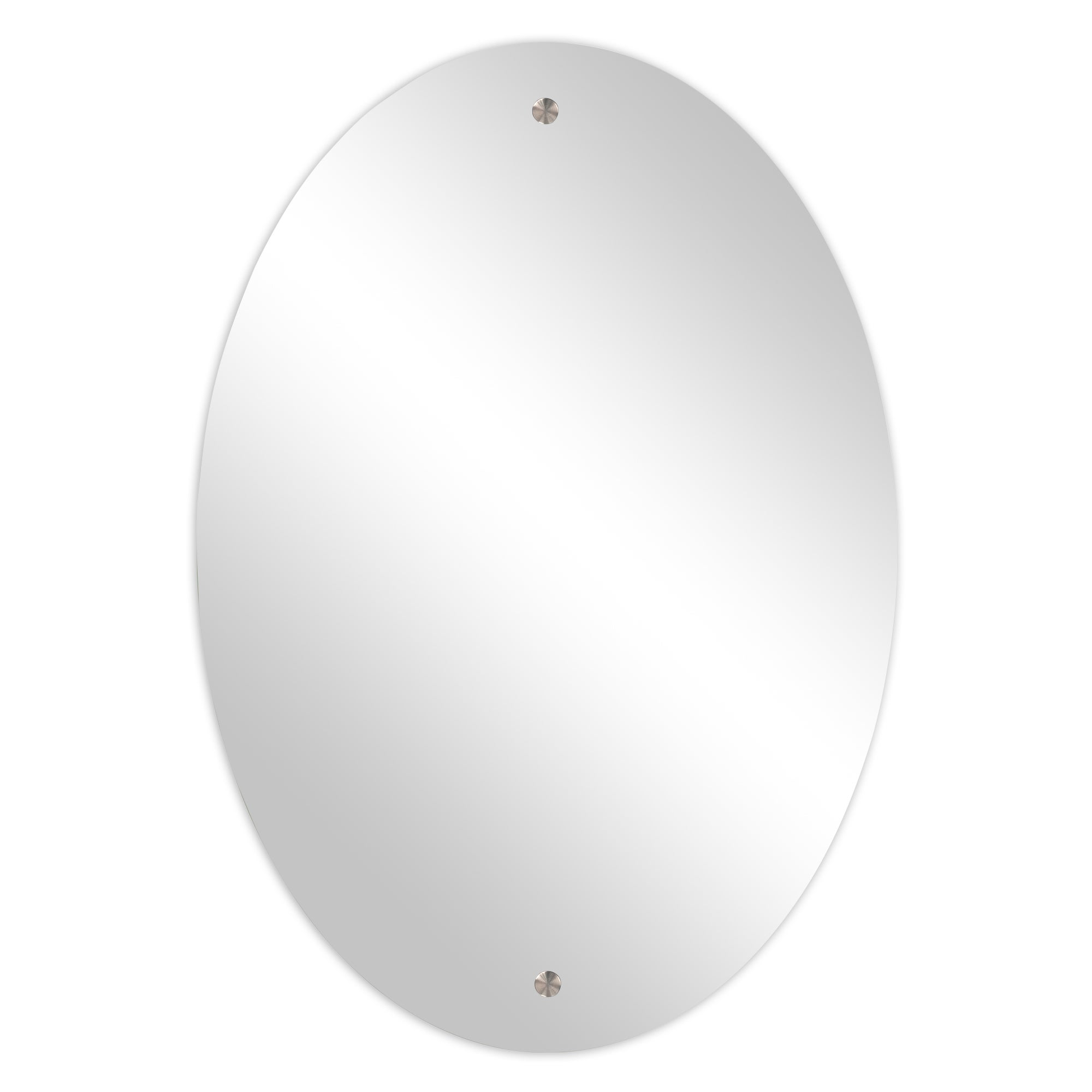 Large Oval Hanging Mirror
