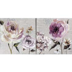 Graceful Glamour Set of 2 Canvases