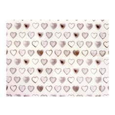Taupe Country Heart Glass Worktop Saver