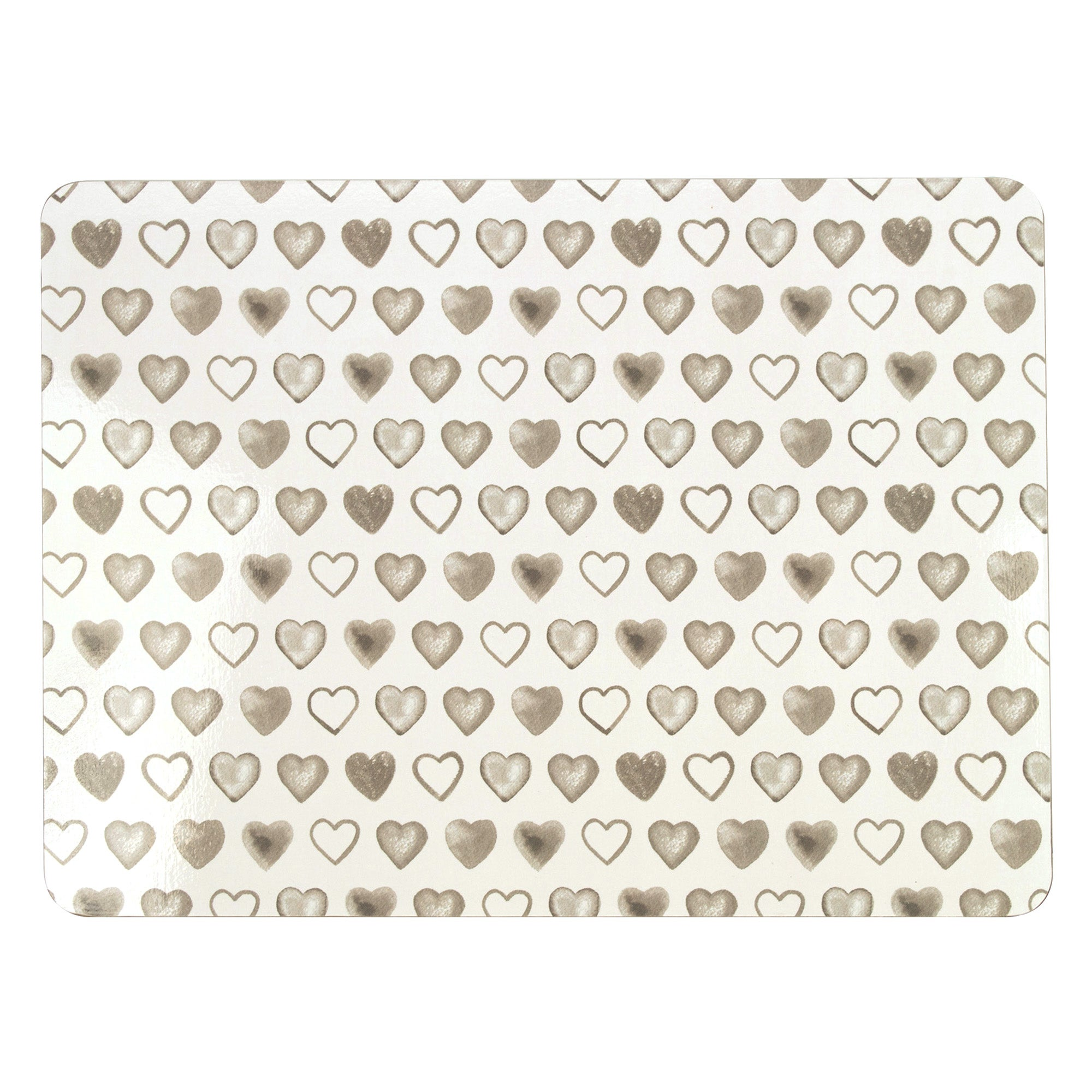 Country Heart Collection Set of 4 Placemats