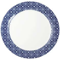 Indigo Bazaar Collection Dinner Plate
