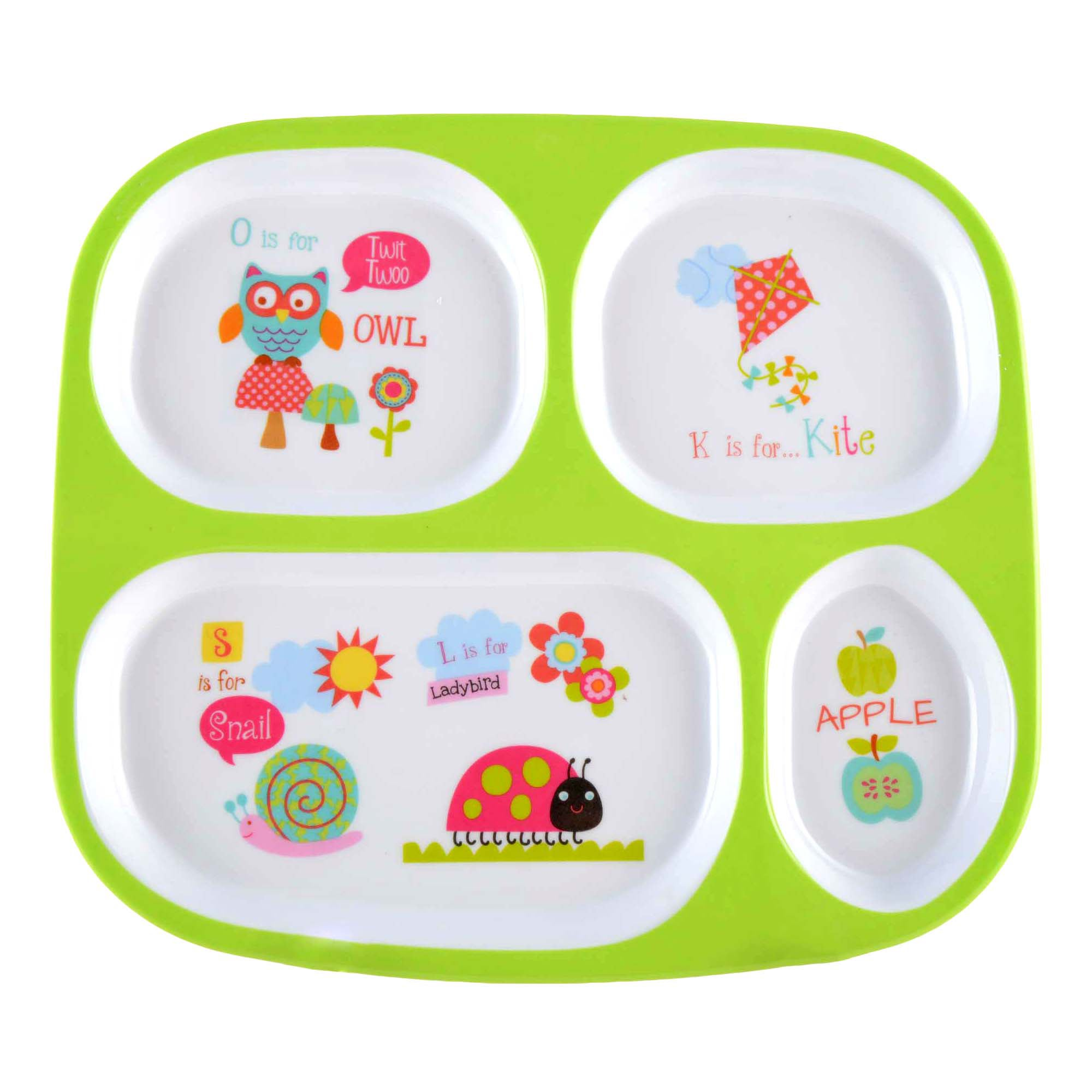 Kids Alphabet Collection Dinner Tray